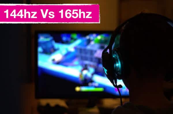 144hz vs  165hz Comparison: Can You Notice A Difference In