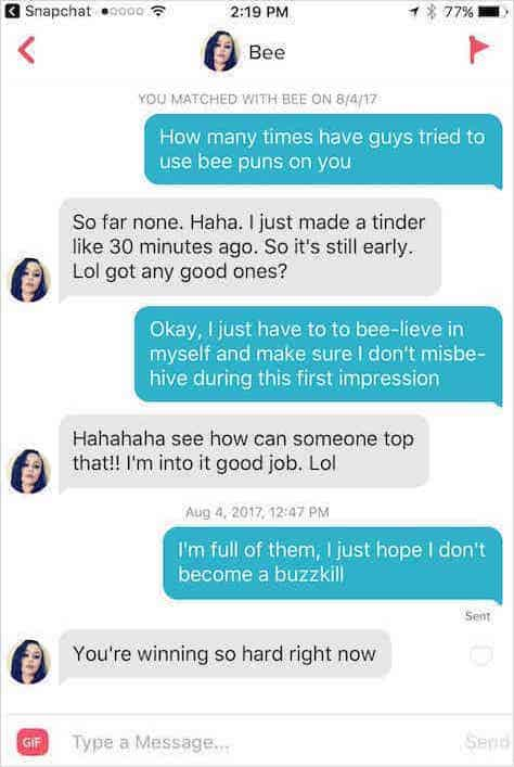 17 Funny Tinder Pickup Lines That Work (Almost) Every Time