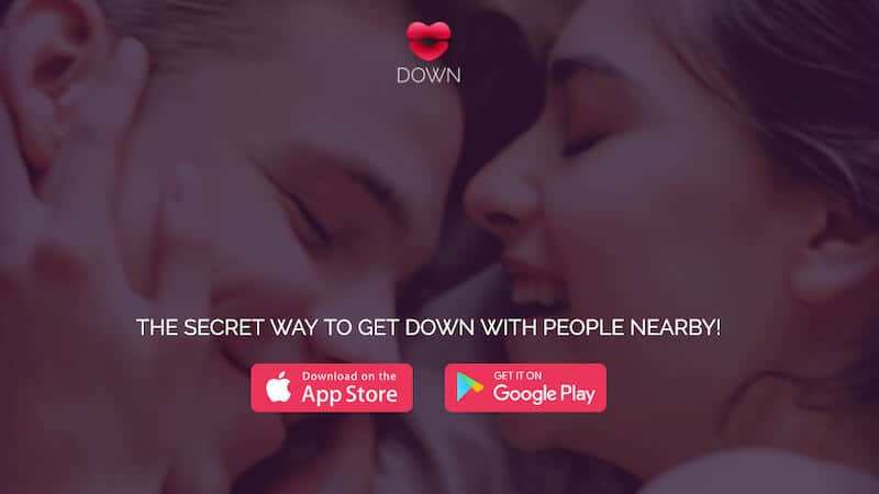 Down app for dates and hookups