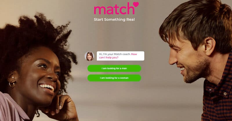 Match, a dating app like Tinder