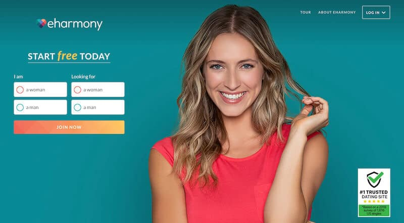 eharmony review (sign up page)