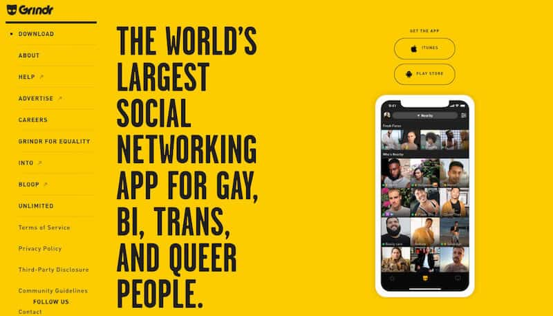 Hookup app for gay, bisexual and transgender