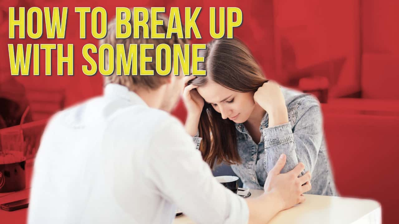How to break up with someone you aren't really dating