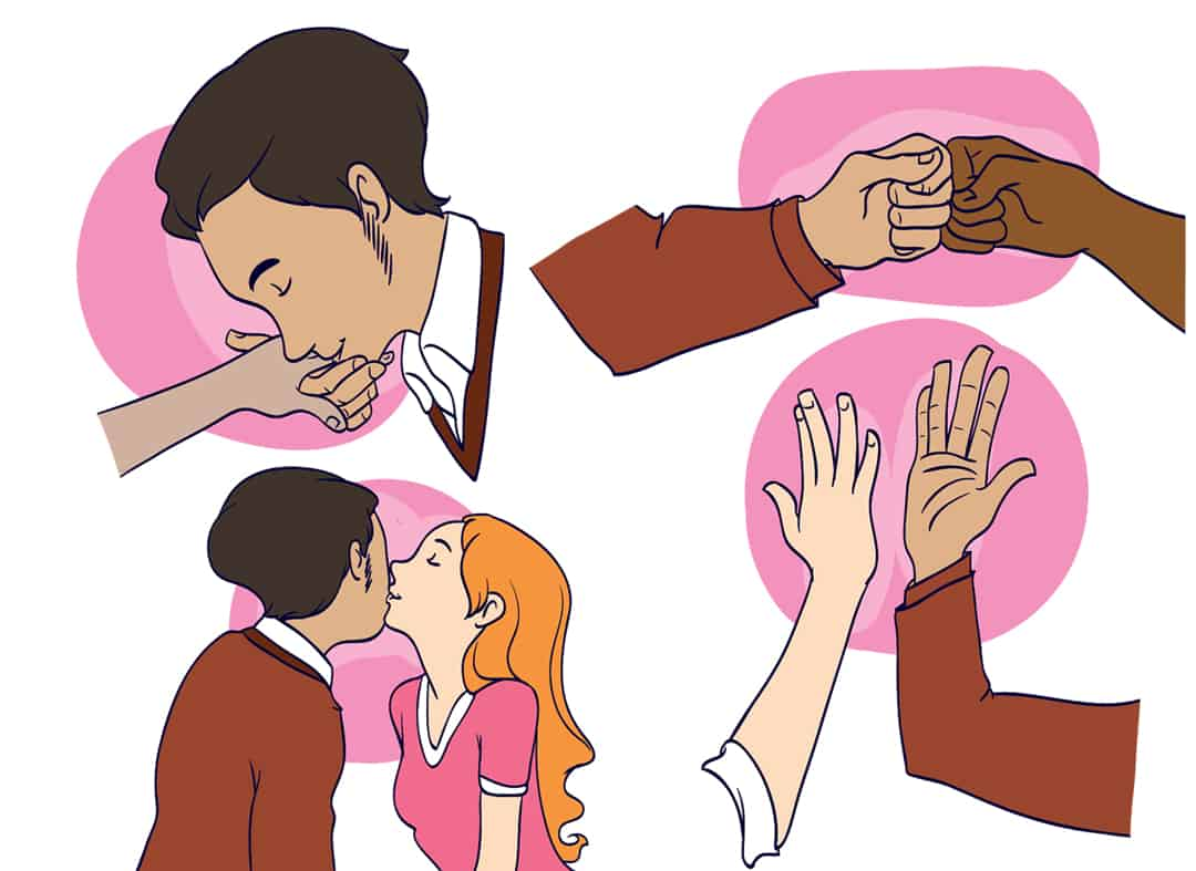How to have a great handshake step 2