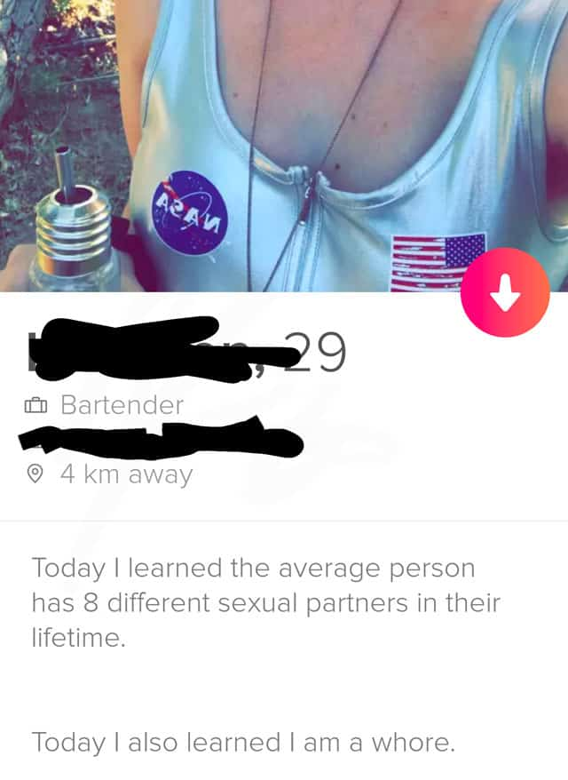 funny tinder girl profile