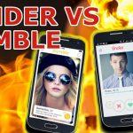 Tinder versus Bumble